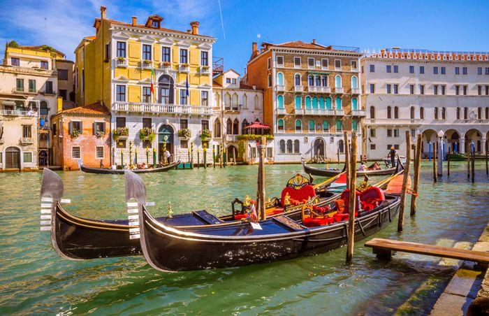 3D Фотообои 3D Фотообои «Яркий полдень в Венеции»