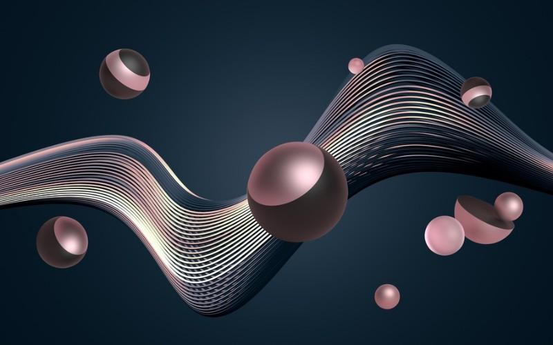 3D Фотообои «Космические жемчужины»