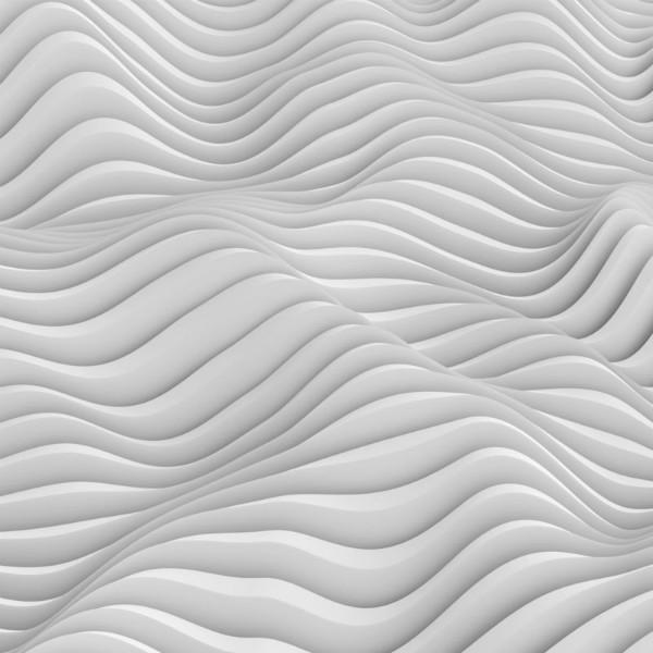 3D Фотообои «Объемные волны»