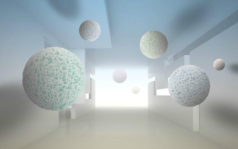 3D Фотообои 3D Фотообои «Сферическая абстракция»