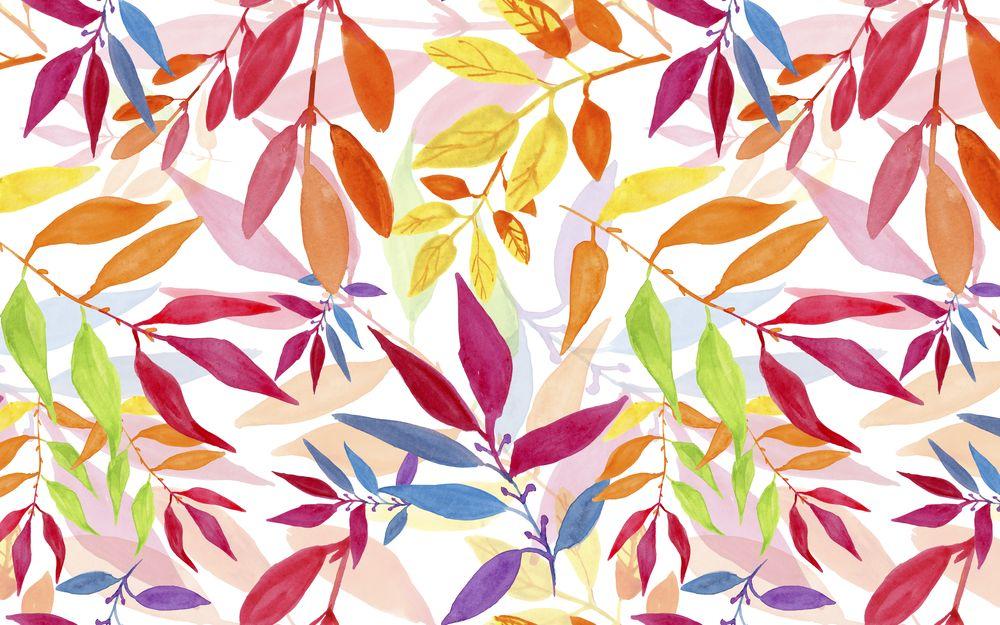 3D Фотообои 3D Фотообои «Осенняя листва в ярких красках»