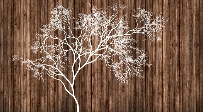 3D Фотообои 3D Фотообои «Дизайнерское дерево»