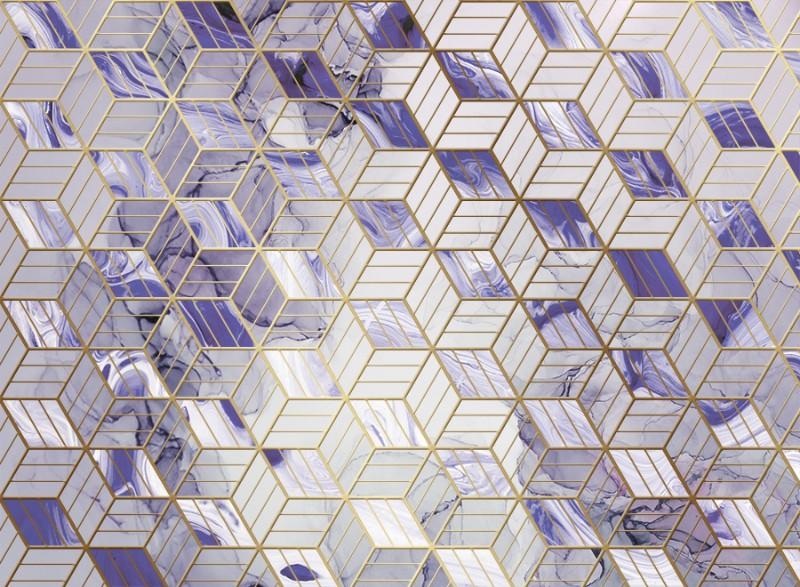 3D Фотообои «Кубическая фантазия»
