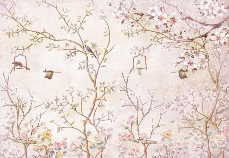 3D Фотообои Фотообои «Весенний сад»