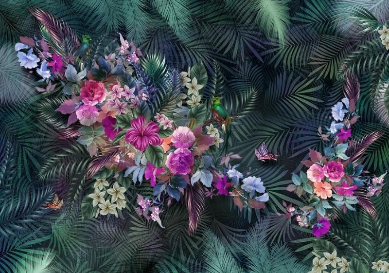 3D Фотообои Фотообои «Тропическое великолепие»