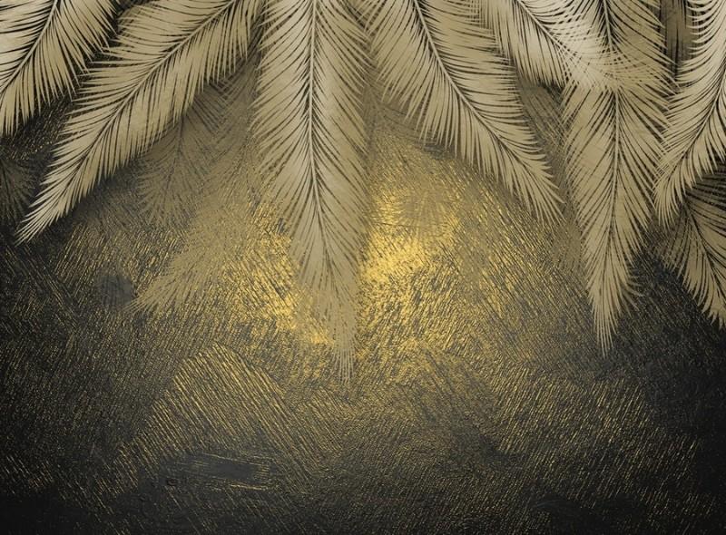 3D Фотообои 3D Фотообои «Пальмы на закате»