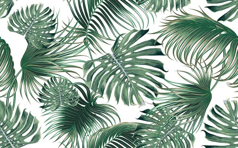 3D Фотообои 3D Фотообои  «Листья папоротника»