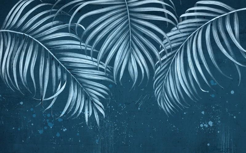 3D Фотообои 3D Фотообои  «Ночь в джунглях»