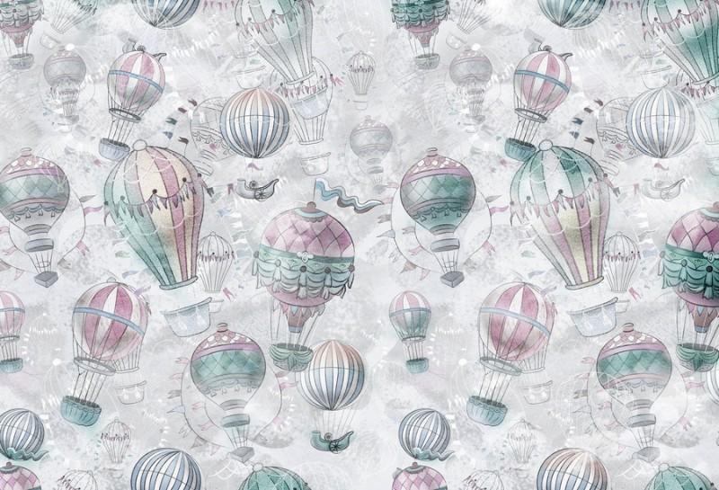 3D Фотообои Фотообои «Невесомый полёт»