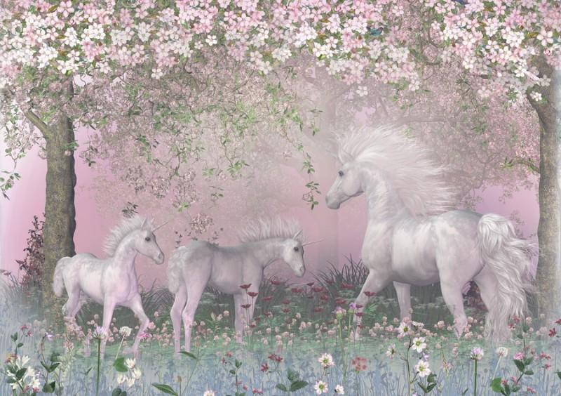 3D Фотообои Фотообои «Сказочный сад»