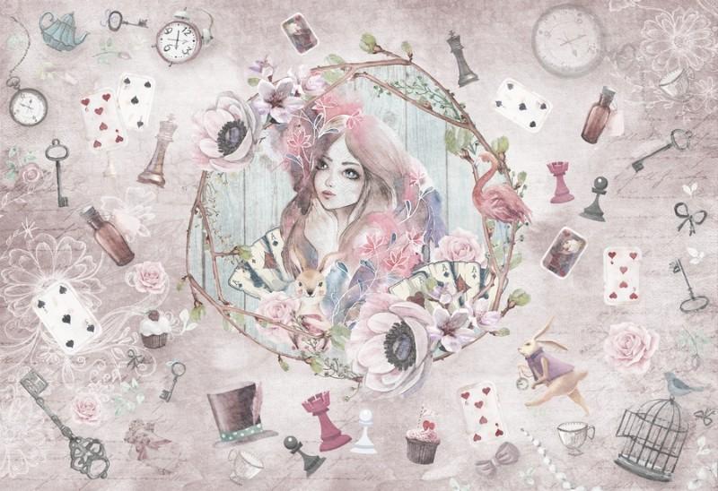 3D Фотообои Фотообои «Мечты Алисы»