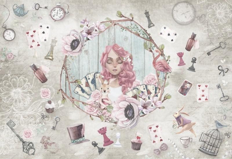 3D Фотообои Фотообои «Сны Алисы»