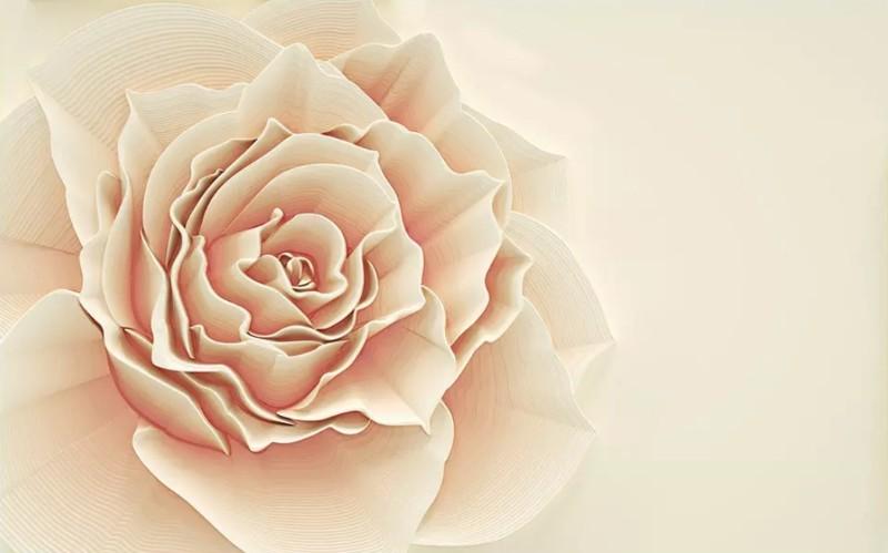 3D Фотообои 3D Фотообои «Изысканная роза»