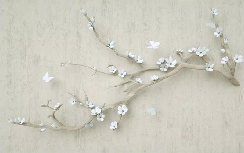 3D Фотообои «Мелодия весны»