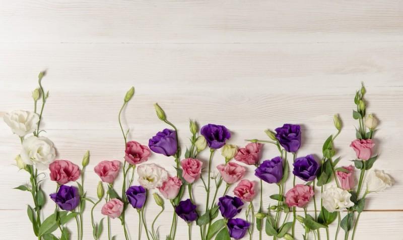 3D Фотообои «Цветочный букет в деревенском стиле»