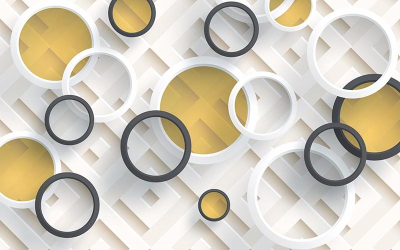 3D Фотообои 3D Фотообои «Геометрическая абстракция»