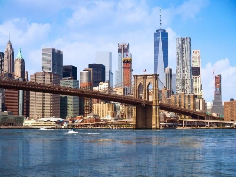3D Фотообои 3D Фотообои  «Вид на Бруклин»