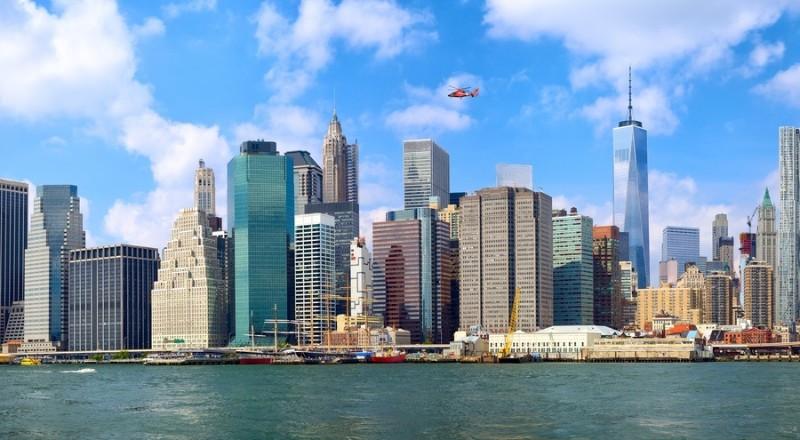 3D Фотообои «Нью-Йорк»