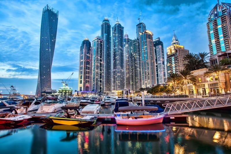 3D Фотообои «Вечерний Дубай»