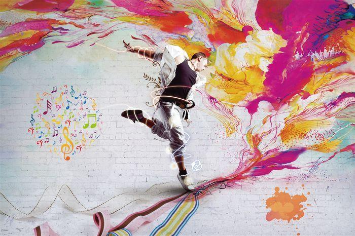 3D Фотообои 3D Фотообои «Street Dance»