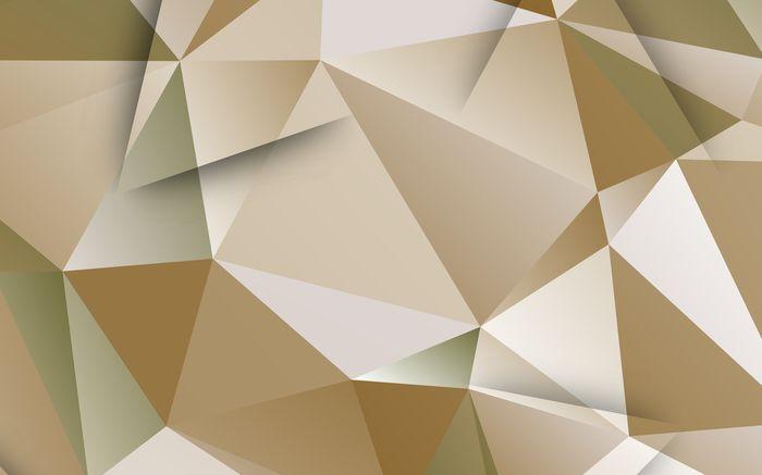 3D Фотообои 3D Фотообои «Бежевые полигоны»