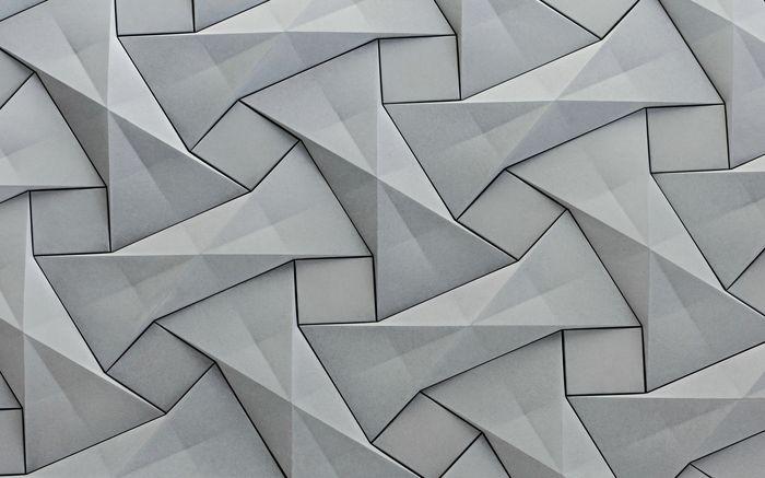 3D Фотообои 3D Фотообои «Мозаика из квадратов»