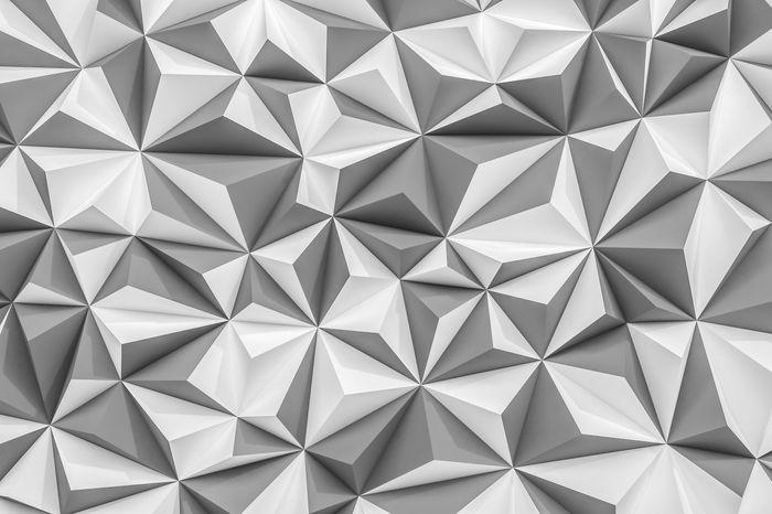 3D Фотообои «Мелкие полигоны»