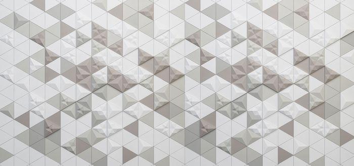 3D Фотообои 3D Фотообои «Треугольная мозаика»