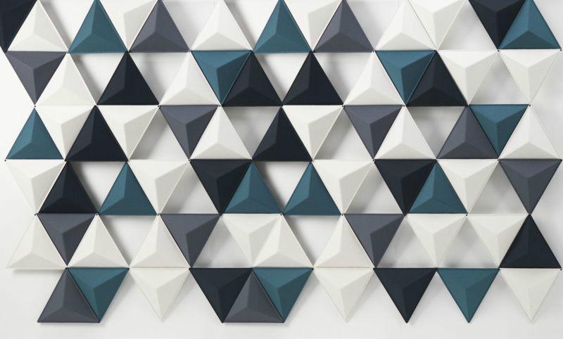 3D Фотообои 3D Фотообои «Треугольная плитка»