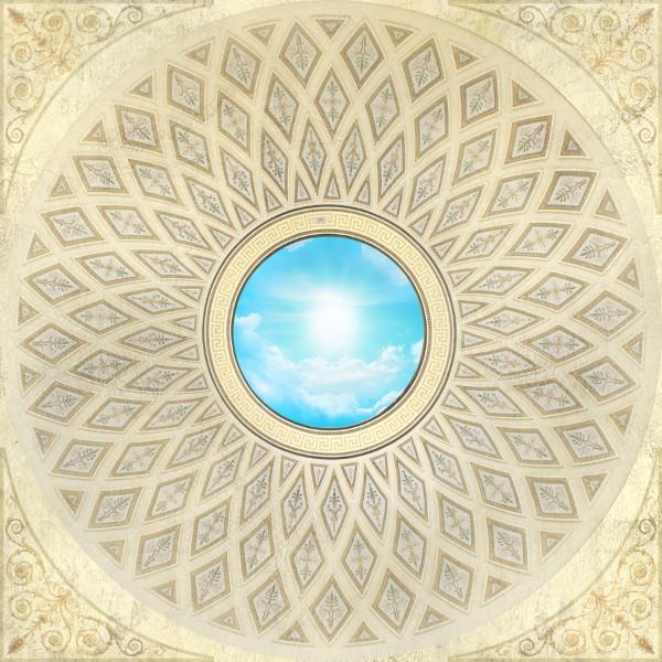3D Фотообои 3D Фотообои «Открытый купол»