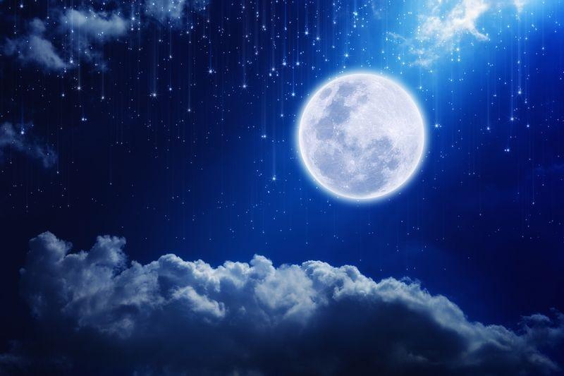 3D Фотообои 3D Фотообои «Лунная ночь»