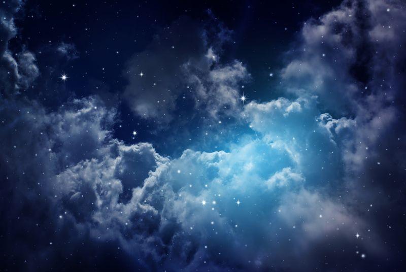 3D Фотообои 3D Фотообои «Облака в космосе»