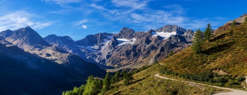 3D Фотообои «Альпийский пейзаж»