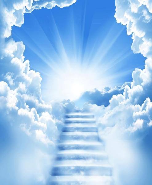3D Фотообои 3D Фотообои «Небесная лестница»