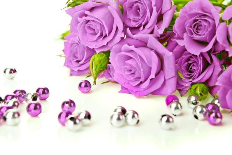 3D Фотообои 3D Фотообои «Розы цвета фуксии»