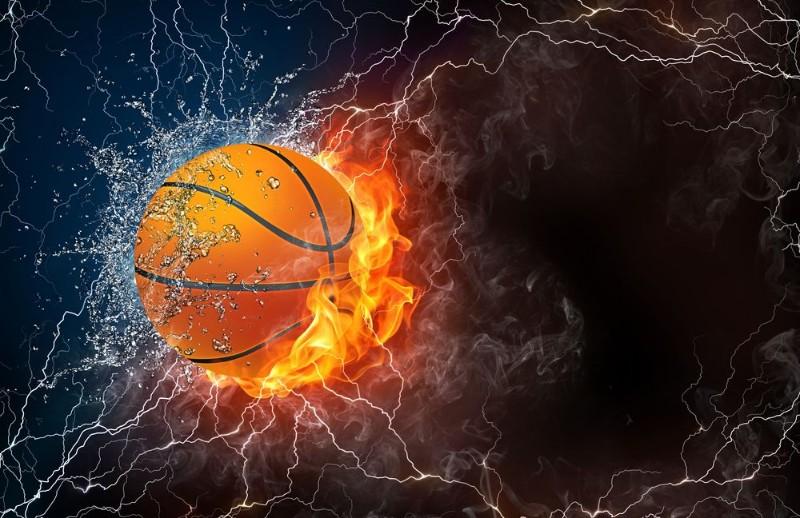 3D Фотообои 3D Фотообои «Огненный мяч»