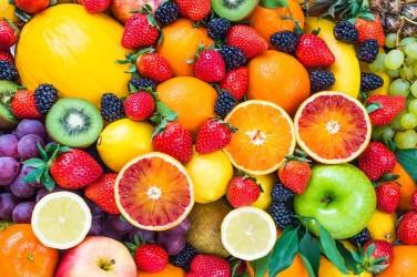 5D картина  «Цитрусы с ягодами»
