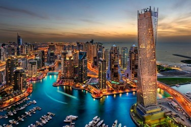 5D картина «Ночной Дубай»