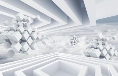3D Ковер «Небесная абстракция»