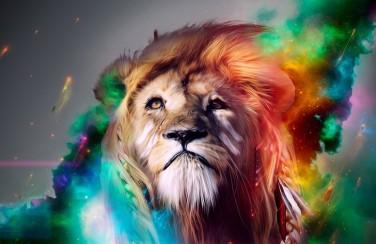 3D Ковер  «Царь зверей»