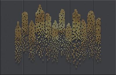 3D Ковер «Огни золотого города»