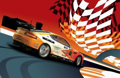 3D Ковер «В стиле Формулы-1»