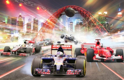 3D Ковер «Формула 1»