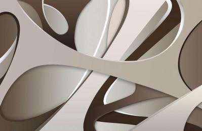 3D Ковер  «Удивительная абстракция»