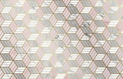 3D Ковер «Романтичная геометрия»