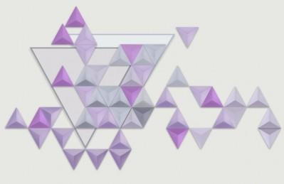 3D Ковер «Трёхмерные треугольники»