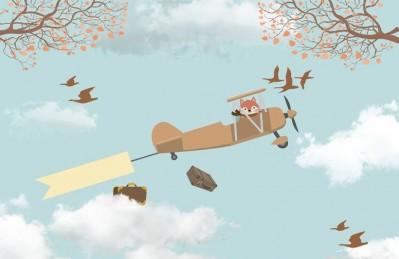 3D Ковер «Пушистый пилот»
