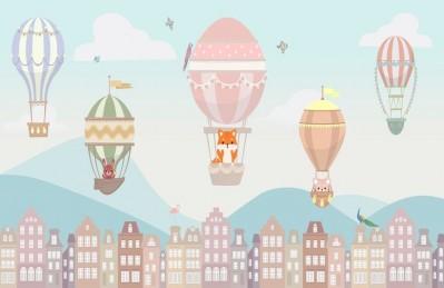3D Ковер «Полеты над Амстердамом»