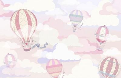3D Ковер «Воздушно-розовая фантазия»