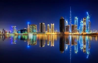 3D Ковер «Синева ночного города»